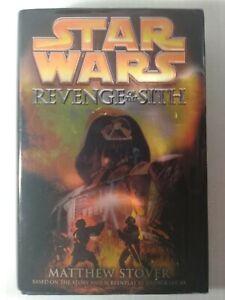 Star Wars Revenge Of The Sith Hardcover Book 2005 1st Editon Matthew Stover Ebay