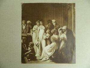 Gravur Kitschbild Louis Leopold Boilly Der -saal Billard Unterzeichnet Datiert