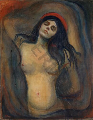 PAINTING MUNCH MADONNA GIANT WALL POSTER ART PRINT LLF0693