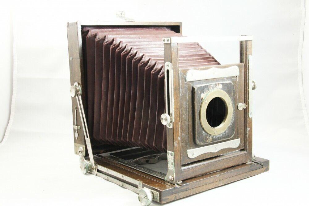 Rare R. Konishi 4 x 6 Großbildkamera [Foto Manufaktur Tokio] aus JP *2805