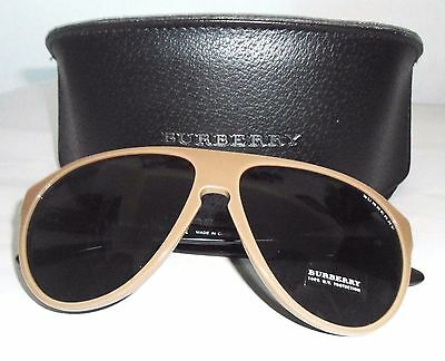 BURBERRY Sunglasses  BE4142 3395/87 Unisex Brown & Black Store Demo