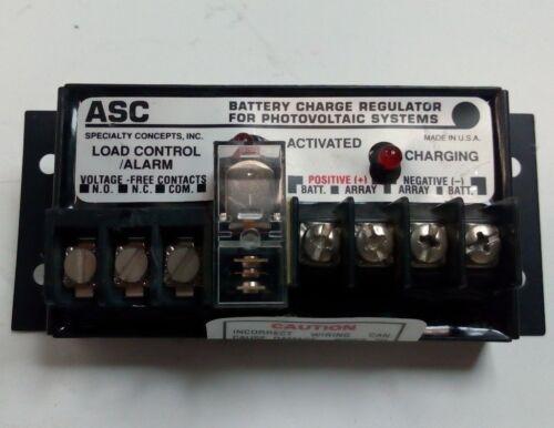 ASC charge de batterie régulateur pour systèmes photovoltaïques ASC-12//12-E