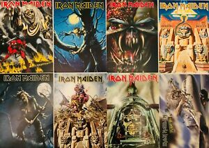 IRON-MAIDEN-Set-of-8-Postcards-Official-Rock-Merchandise