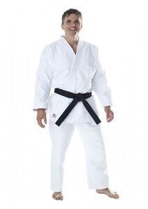 Dax Sports JUDO ANZUG, Fuji, Weiß. 130-200cm. 100% Baumwolle, ca. 580 g/m²