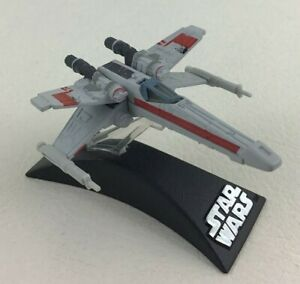 Star-Wars-X-wing-Starfighter-Jedi-Fighter-Ship-Diecast-with-Stand-2005-Lucas