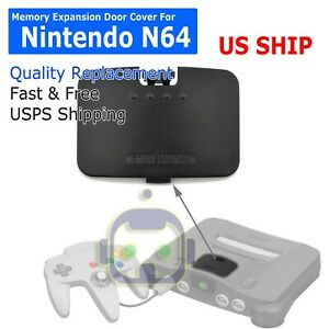 JUMPER-PAK-MEMORY-EXPANSION-COVER-DOOR-REPLACEMENT-LID-For-NINTENDO-64-N64-A293