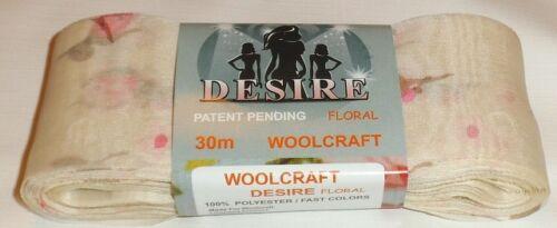 Désir écharpe fil WOOLCRAFT mousseline type froncée volants écharpe à tricoter /& craft
