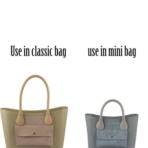 Nuova tasca estraibile in pelle esterna per borsa Obag O 50 /'O CHIC O