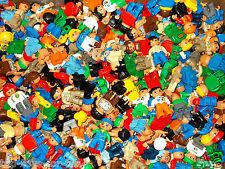 LEGO DUPLO~10x FIGUREN~MÄNNCHEN~BAUARBEITER~MAMA~PAPA~BUNT GEMISCHT