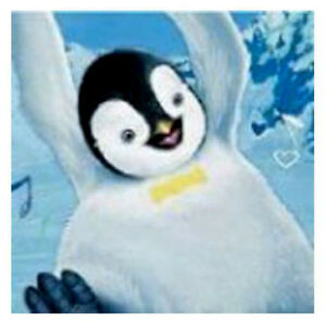 Image Is Loading HAPPY FEET SMALL NAPKINS 16 Birthday Party Supplies