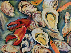 Still-Life-With-Oysters-Hummerscheren-And-Shrimp