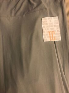 cde05ef2b0e78 Lularoe TC Tall Curvy Leggings Solid Gray 🦄 New HTF Unicorn Grey ...