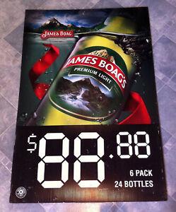 Vintage-James-Boag-039-s-Premium-Light-Corflute-Advertising-Display-Sign
