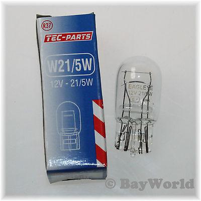 W21W 12V Glassockel Birne W3x16d TEC-Parts Beleuchtung 12911 KFZ Glühlampe 2 St