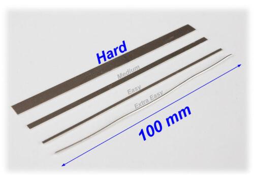 100 mm Strip Silver Hard Solder Jewellers Hallmakable Soldering 10 cm Long