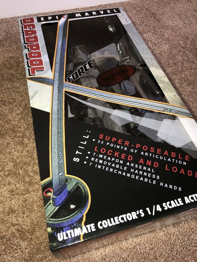 Epic Marvel NECA Deadpool X-Force  01 Ultimate Collector's 1 4 New Unopened