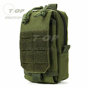 Tactical Molle Pouch Belt Waist Fanny Pack Phone Bag Utility Pocket Hiking Camp