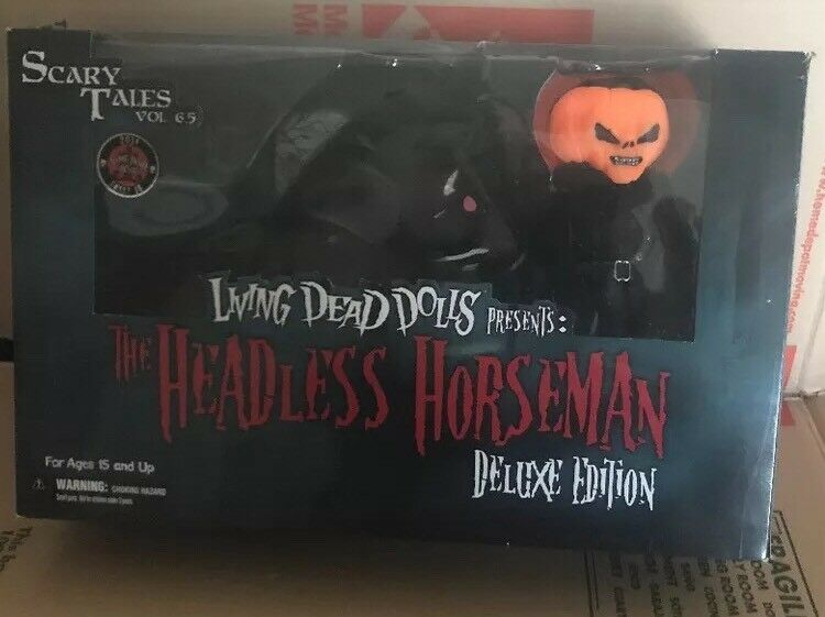 Living Dead Dolls  Headless Horseman and Horse