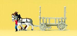 Preiser 79476 Spur N Figuren, Leiterwagen #NEU in OVP#