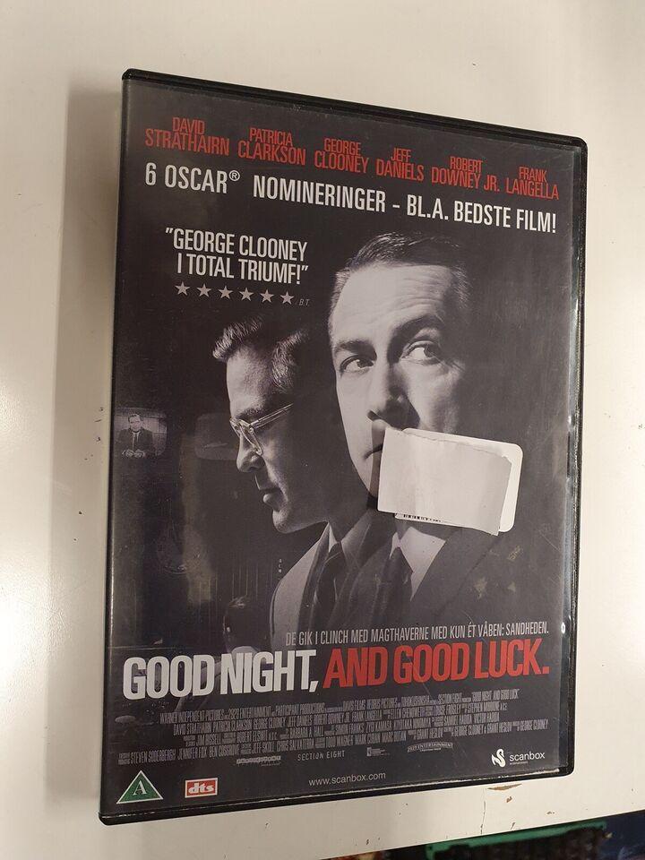 Good night, and good luck, DVD