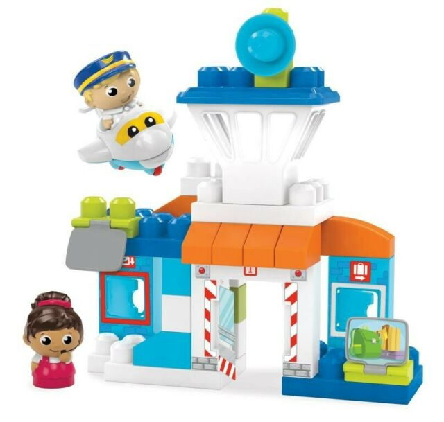 NEW Mega Bloks Friendly Skies Airport from Mr Toys