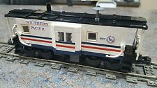 Lego Custom Train Southern Pacific Bicentennial Baywindow Caboose 9V