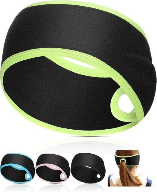 KPwarm Ear Headband for Men Women Sports Running Warmer Head Wrap Winter Non Slip Earmuffs Sweat Band(3 Pack)