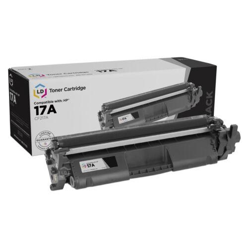 LD © 4pk Comp Black Laser Toner Cartridge for HP 17A CF217A M102a M102 MFP 130a