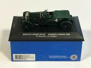 IXO MODELS LM1930 Bentley Speed Six #4 Winner 24h Le Mans 1930 Barnato 1/43