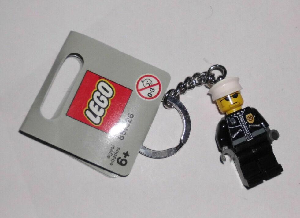 Lego® Minifiguren Schlüsselanhänger Polizist 851626 Neu