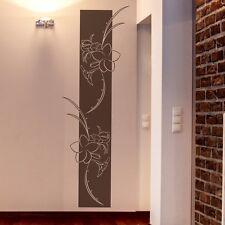 Wandtattoo Wandbanner Blumen Ranke mit SWAROVSKI Wohnzimmer Schlafzimmer Flur 13