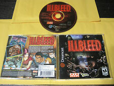 Illbleed (Sega Dreamcast, 2001) Complete in Box