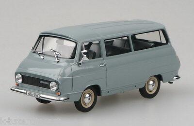 SKODA 1203 in Grey / Blue 1/43 scale model by ABREX