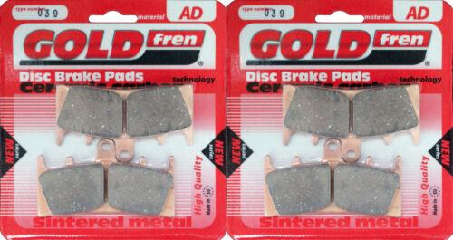 SUZUKI GSF1200S BANDIT SK5 2005 /> SINTERED FRONT BRAKE PADS 2 pair *GOLDFREN