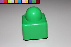2 Noppen rot Lego Duplo Primo Baustein 2er Stein