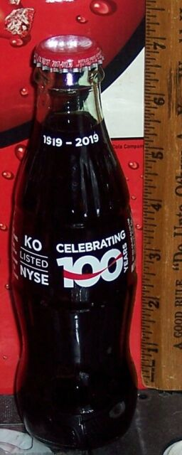 2019 THE OHIO STATE UNIVERSITY 150 YEARS 1870-2020  8 OUNCE  COCA COLA BOTTLE
