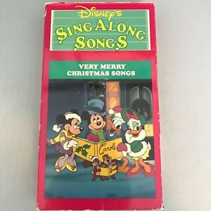 Disney Sing Along Songs Very Merry Christmas Songs 2002.Very Merry Christmas Sing Along Thecannonball Org