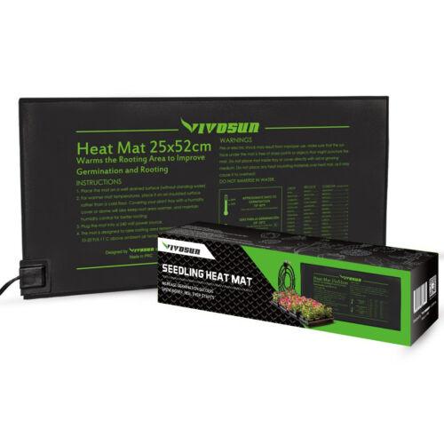 VIVOSUN Propagation Seedling Heat Mat Seed Growing Pad Germination 52cm x 25cm