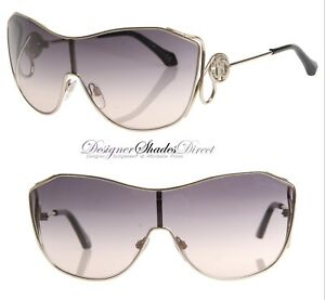 6d272d103a3 Image is loading Roberto-Cavalli-Sunglasses-Snake-Detail-Aviator-Gold-Grey-