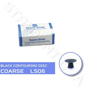 Shofu-Super-Snap-Contouring-Disc-Coarse-Black-50-per-box-SH-L506