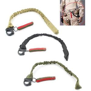 Tactical-Military-Quick-Release-Rifle-Sling-Climbing-Waist-Safety-Breakaway-Rope