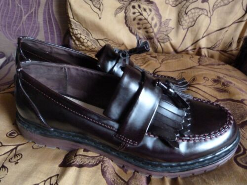 Pull pelle And Brogue 7 Shoes Bear Brown in Slip On Size vvrRUq