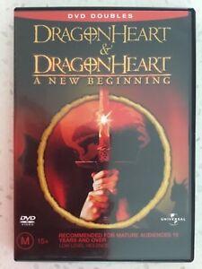 DVD-Dragonheart-amp-Dragonheart-A-New-Beginning-Region-4