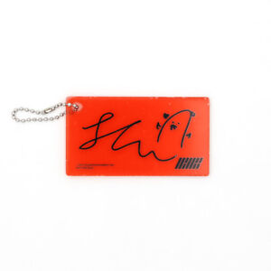 Details about [iKON]NEW KIDS REPACKAGE Album Official ACRYLIC KEYRING / Red  - CHANWOO