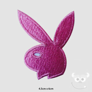 Playboy-Patch-Embroidered-Iron-On-Sew-On-Patch-Badge-For-Clothes-etc