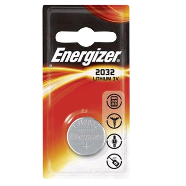 1x Pila Boton Energizer CR2032 Batería Litio 3V