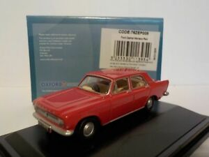 Model-Car-Ford-Zephyr-Red-1-76-New-OXF-76ZEP008