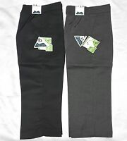 School Boys Pull Up Trousers Black and Grey All Age 1 to 8 Year School Uniform