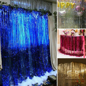 Foil-Fringe-Curtains-Photo-Booth-Tinsel-Door-Backdrop-Party-Decoration