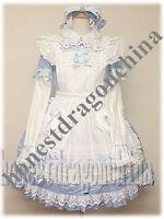 Alice in the Wonderland Gothic Lolita Cosplay Kleid B7